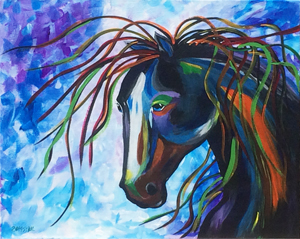 Wild Horse by Sybil A. Bissell
