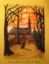 Evening Prayer by Sybil A. Bissell