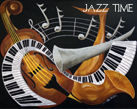 Jazz Time by Sybil A Bissell